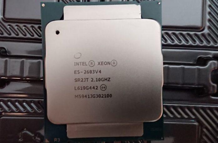Counterfeit Intel Xeon E5 2683 V4 Closer