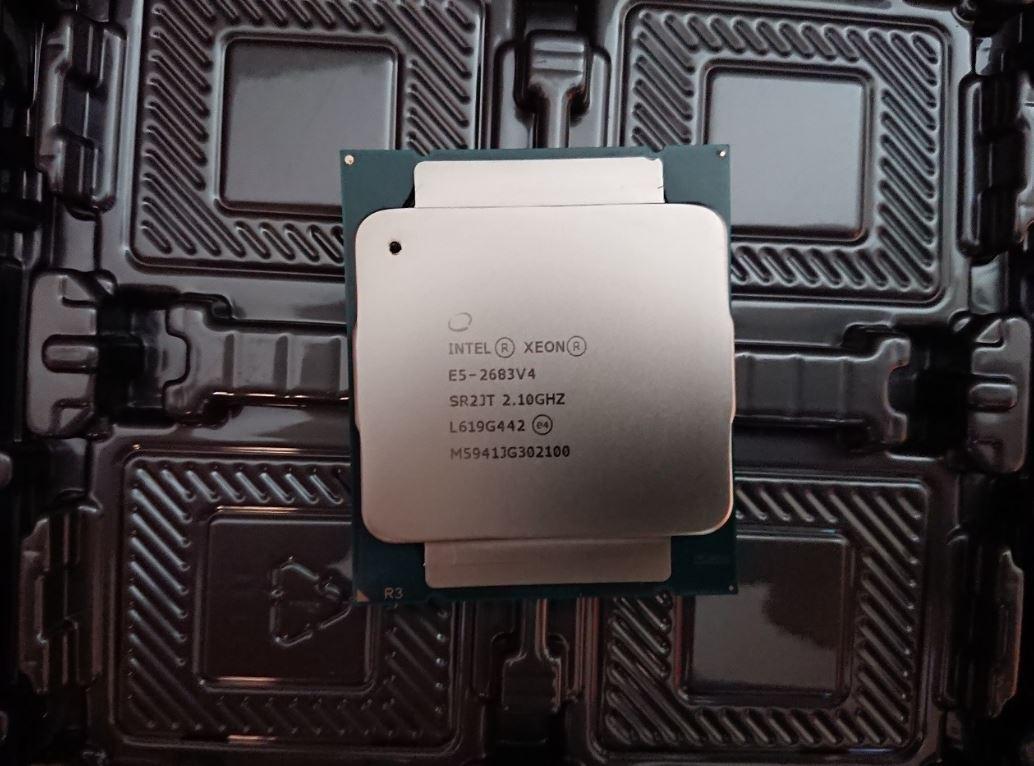 Counterfeit Intel Xeon E5 2683 V4