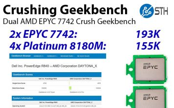 Crushing Geekbench AMD EPYC 7742 Cover
