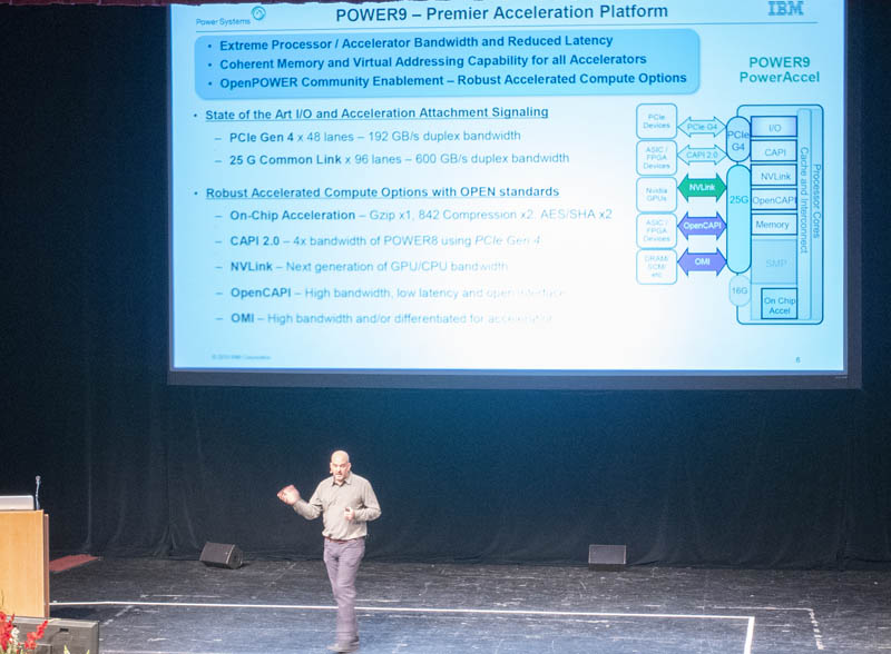 IBM Power9 Talk At Hot Chips 31 Minimize Number Of PHYs PCIe And 25G Signaling