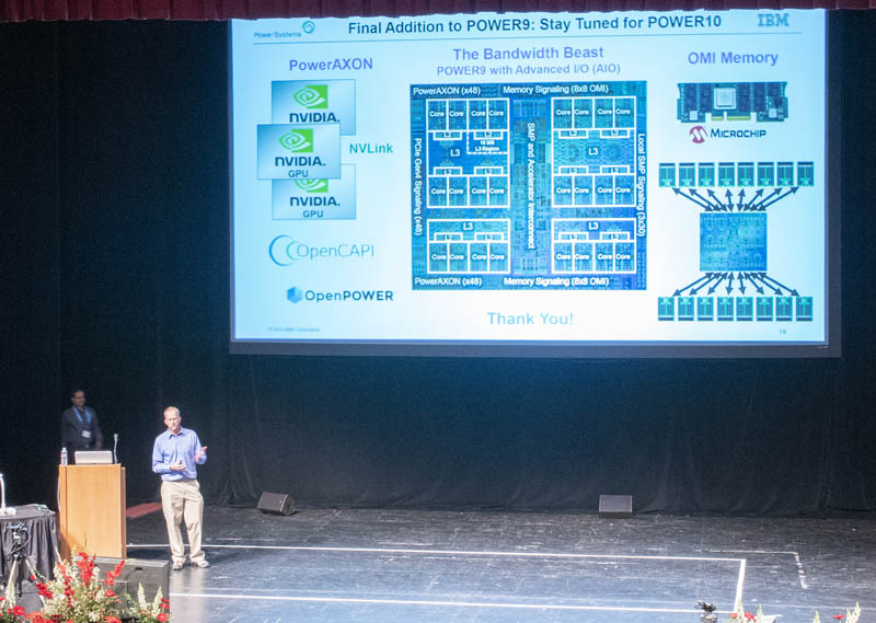 IBM Power9 Talk At Hot Chips 31 Stay Tuned For Power10