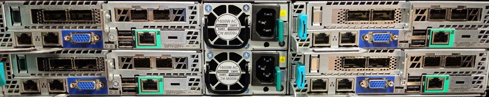 Intel 2U4N 2P Xeon E5 2630 V4 Load Gen Nodes