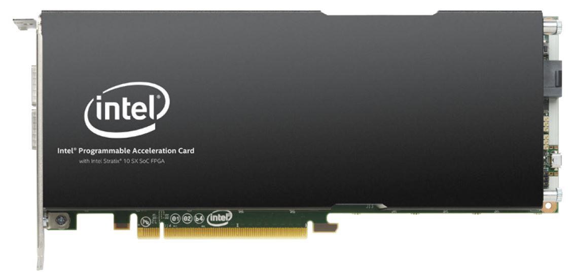 Intel FPGA PAC D5005 Front