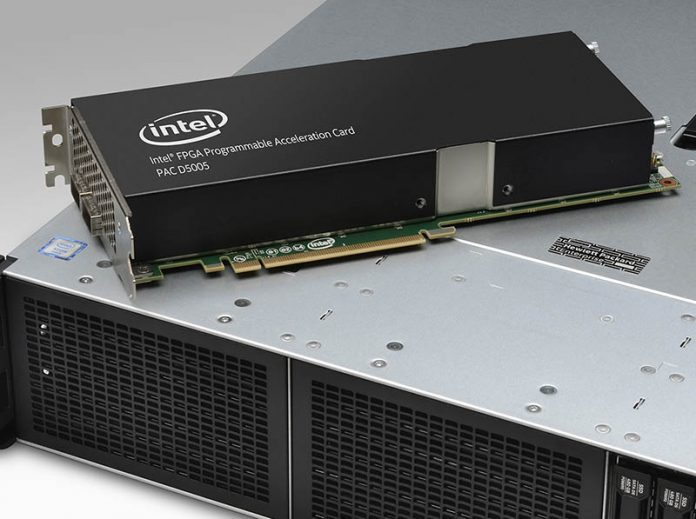 Intel FPGA PAC D5005 On HPE ProLiant DL380 Gen10