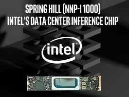 Intel NNP I 1000 Spring Hill Cover