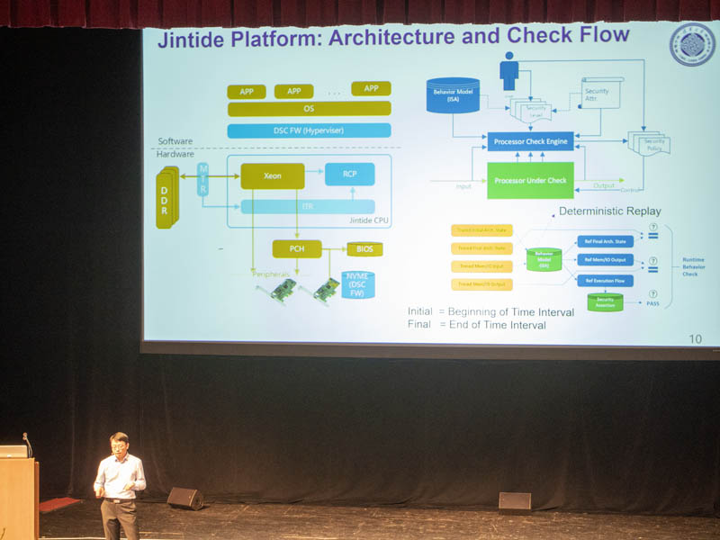 Jintide Platform Architecture And Check Flow Hot Chips 31
