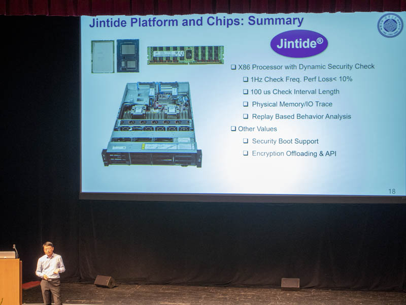 Jintide Platform Chips Summary Hot Chips 31