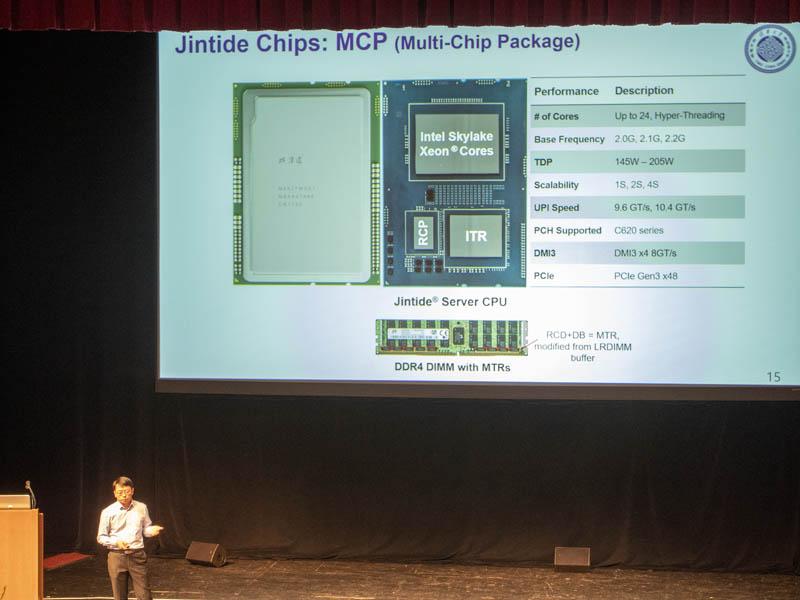 Jintide Platform MCP Hot Chips 31