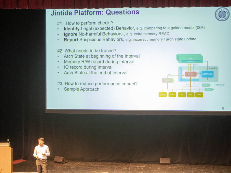 Jintide Platform Questions Solved Hot Chips 31