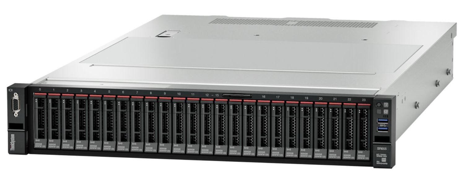 Lenovo ThinkSystem SR655 Front