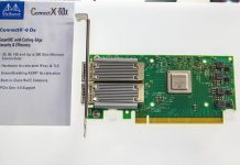 Mellanox ConnectX 6 Dx At Show