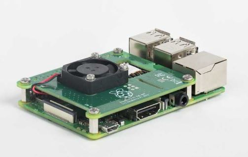 Raspberry Pi 4 With PoE Hat