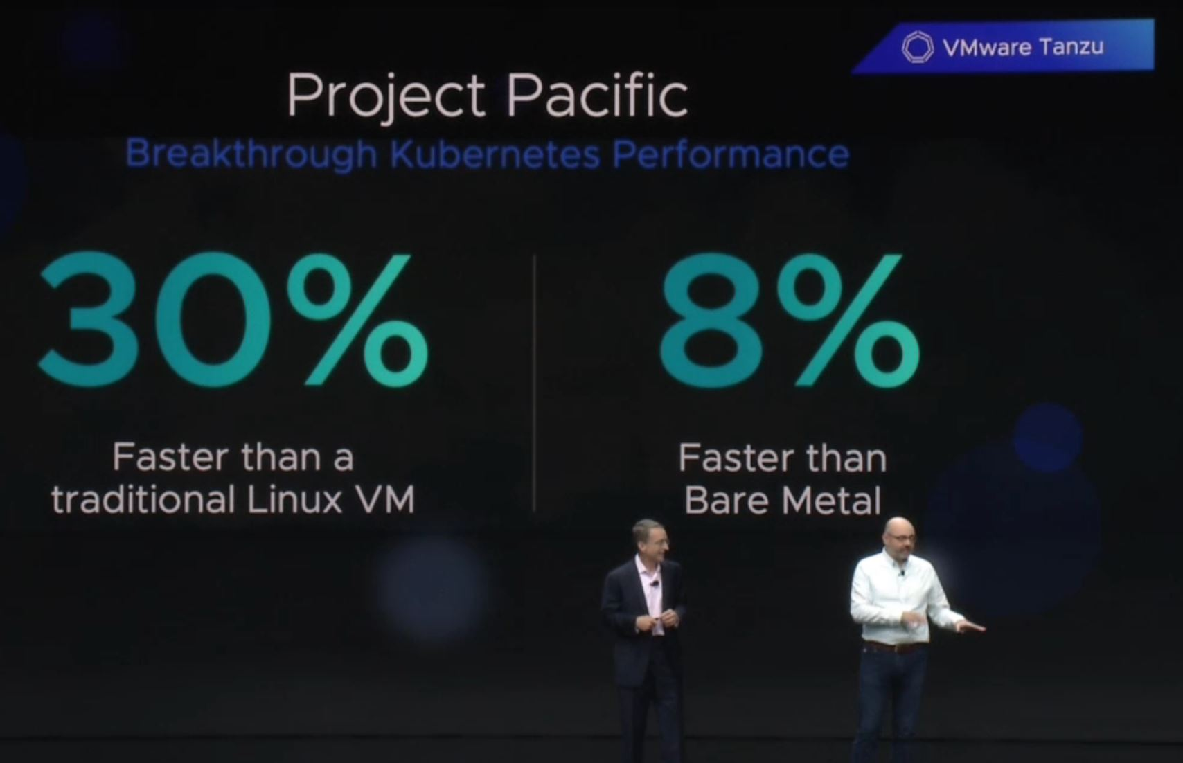 VMware Project Pacific Faster Than Bare Metal VMworld