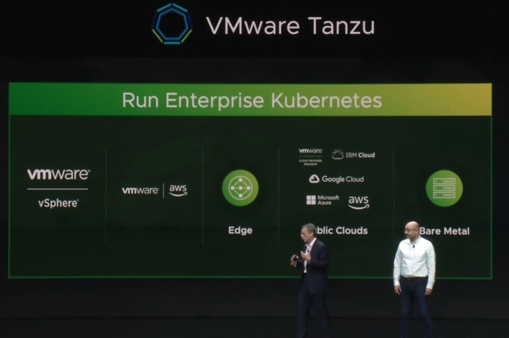 VMware Tanzu Announcement 2 VMworld
