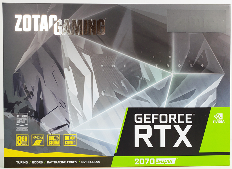 ZOTAC RTX 2070 SUPER Box Front