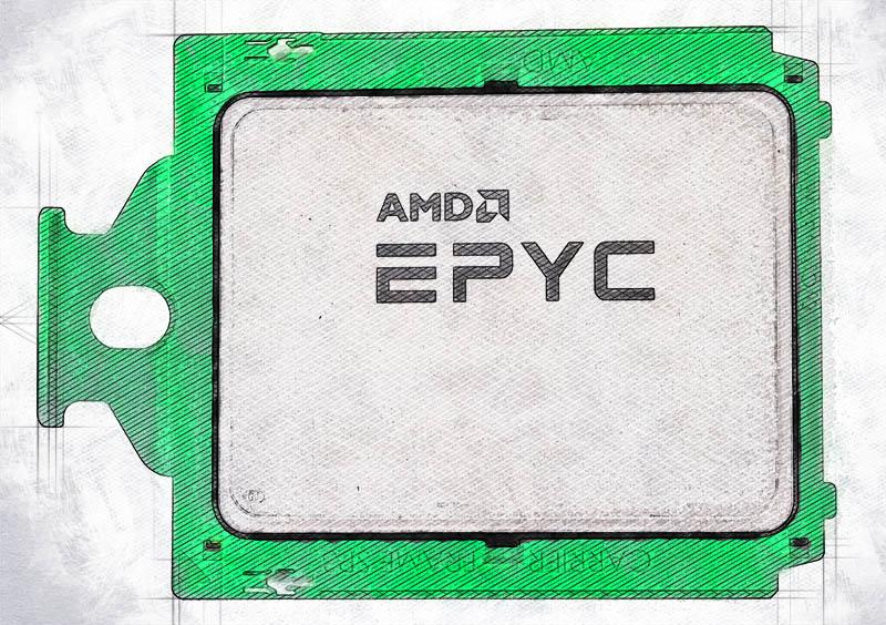 AMD EPYC 7002 Top Cover Sketch