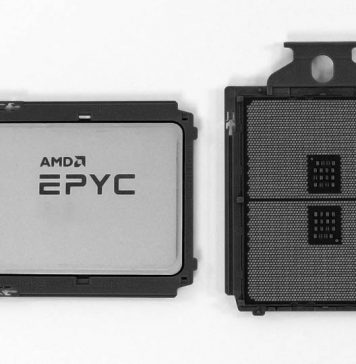AMD EPYC 7002 Top And Bottom Cover BW