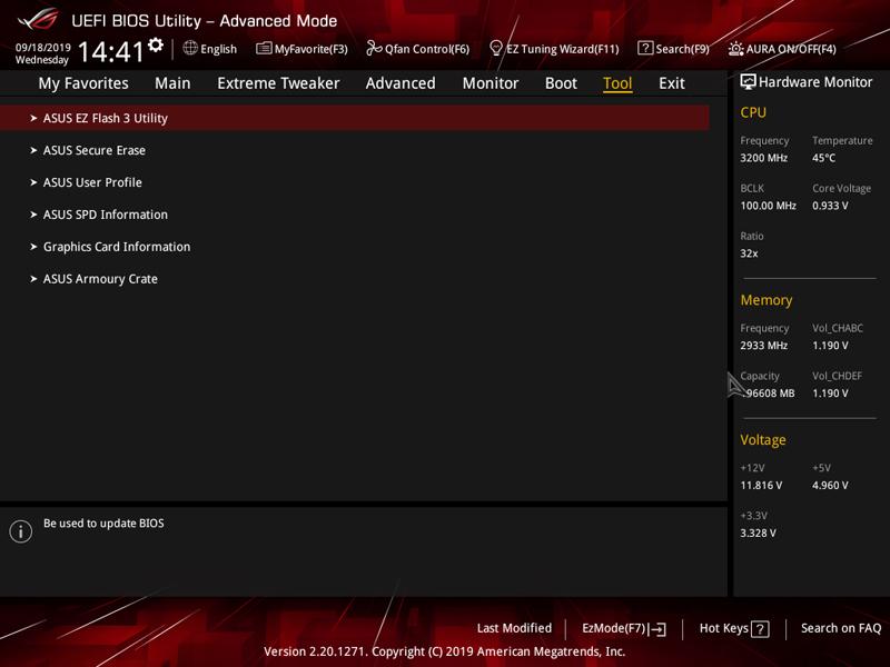 ASUS ROG Dominus Extreme BIOS Tool