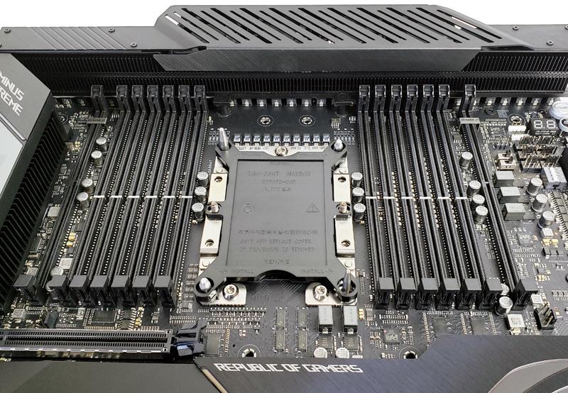 ASUS ROG Dominus Extreme CPU & RAM Slots