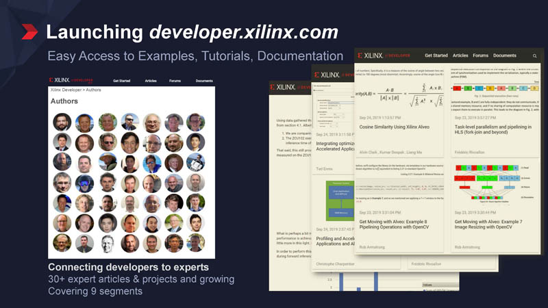 Developer Xilinx Launch