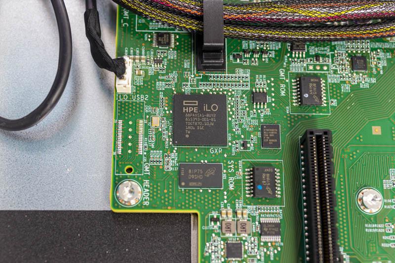 HPE ProLiant DL325 Gen10 ILO 5 Dashboard