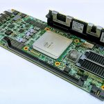 Intel Stratix 10 With DCPMM And UPI Dev Board Pictured