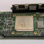 Intel Stratix 10 With DCPMM And UPI Dev Board Pictured Close