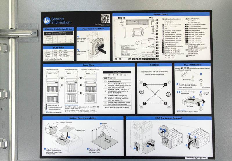 Lenovo ThinkSystem ST250 Cover Service Information