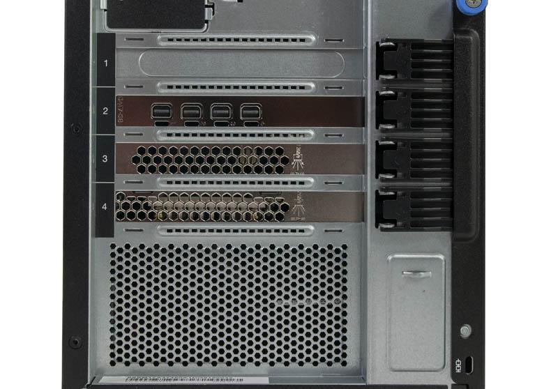 Lenovo ThinkSystem ST250 Rear Expansion