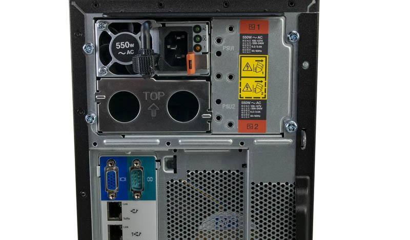 Lenovo ThinkSystem ST250 Rear Power Supply