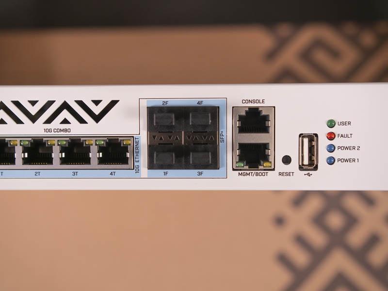 MikroTik CRS312 4C 8XG RM Combo Ports