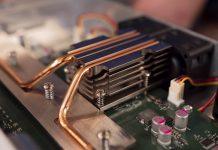 MikroTik CRS312 4C 8XG RM Heat Sink