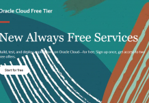 Oracle Always Free Cloud Tier