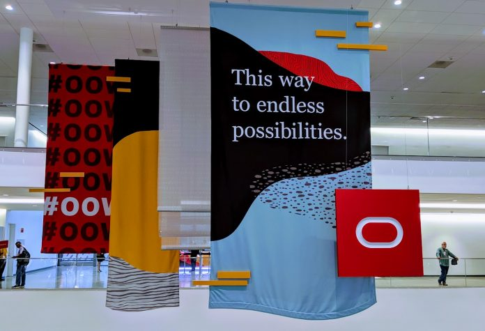 Oracle OpenWorld 2019 Banner