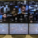 Oracle Raspberry Pi Supercomputer 3×3 Visualization