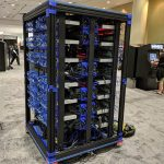 Oracle Raspberry Pi Supercomputer Angle View