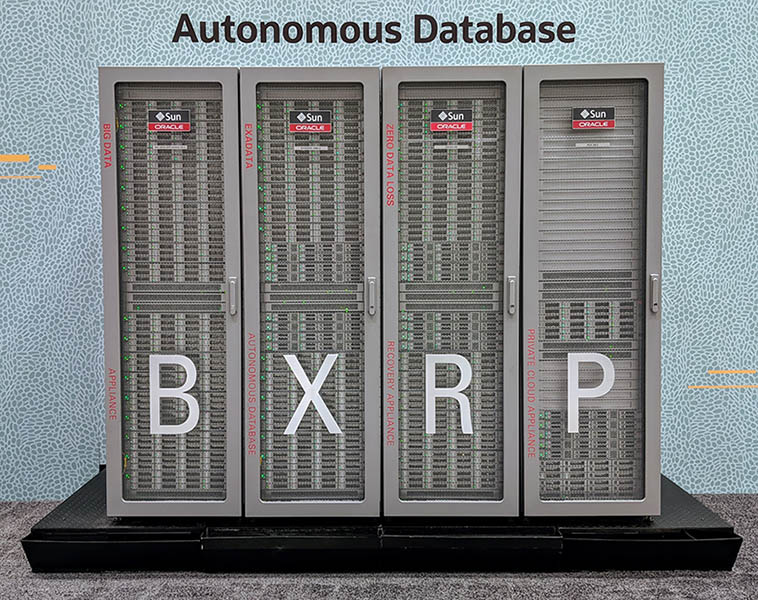 Sun Oracle Exadata Server Solutions For Autonomous Databases 2019