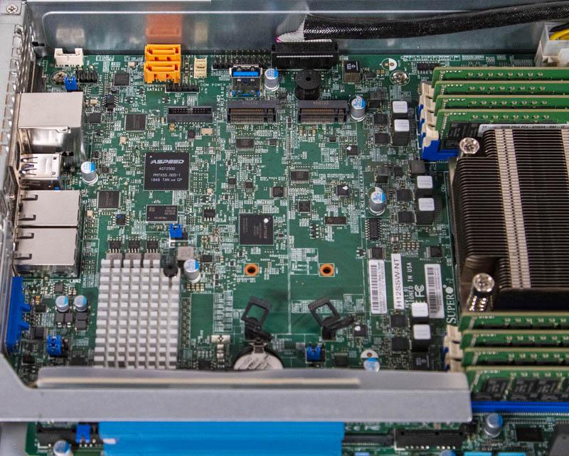 Supermicro AS 1014S WTRT Internal M2 SATADOM BMC And 10Gbase T