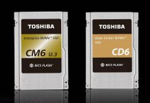 Toshiba CM6 And CD6 PCIe Gen4 NVMe SSDs