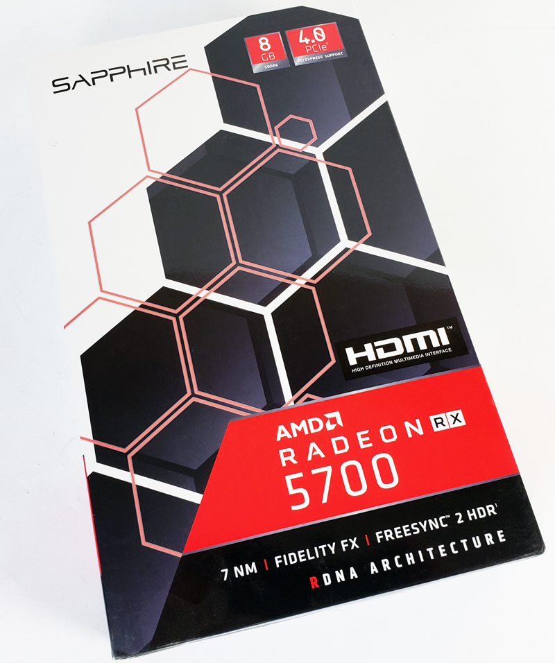 AMD Radeon RX 5700 Retail Box