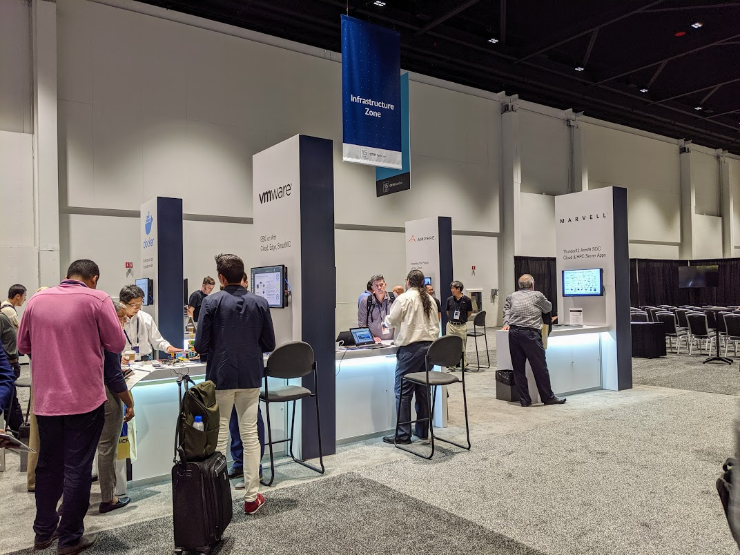 Arm TechCon 2019 Infrastructure Zone