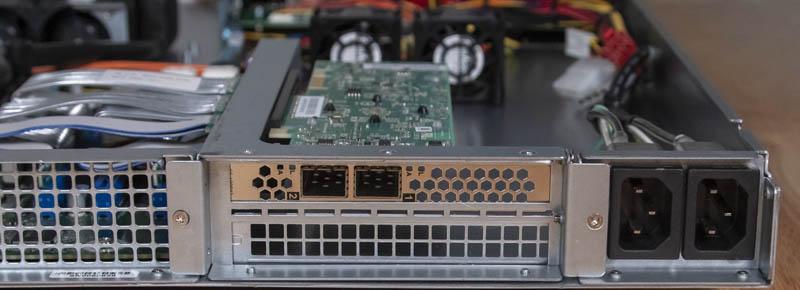 ICC Vega R 116i Solarflare NIC And Power Inputs