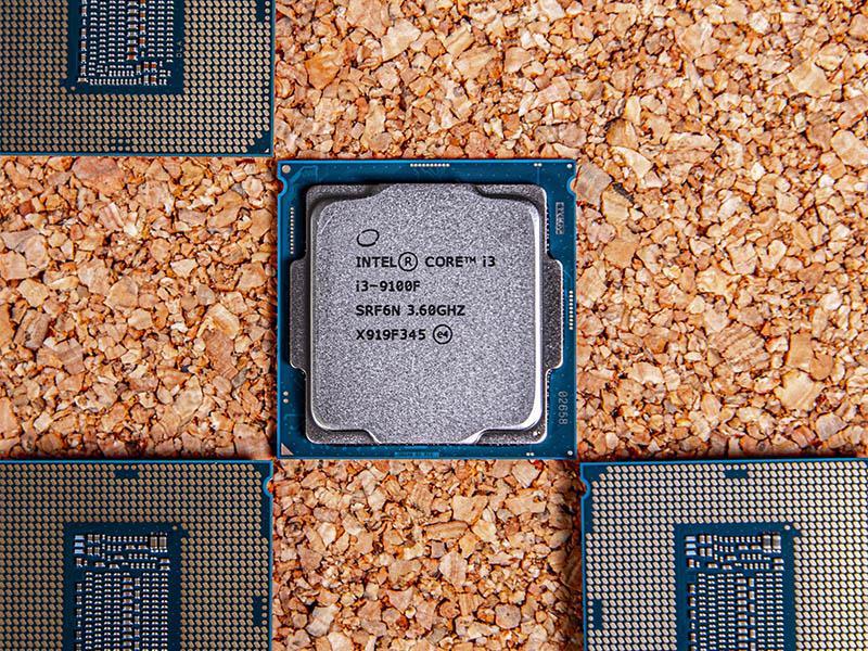 Intel Core I3 9100F Cover Photo
