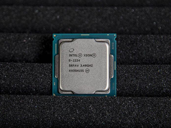Intel Xeon E 2224 Cover Image