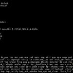Intel Xeon E 2274G Lscpu Output