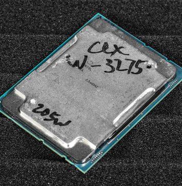 Intel Xeon W 3275 Cover