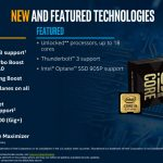 New Intel Core I9 X Series Features LGA 2066