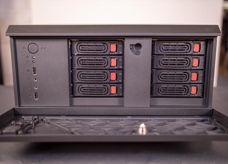 SilverStone CS381 Front Drive Bays