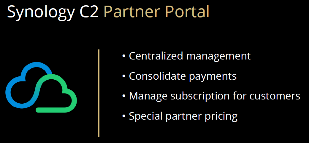 Synology C2 Partner Portal At Synology 2020
