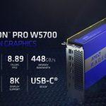 AMD Radeon Pro W5700 Key Specs